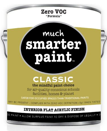 853ac23e17ab44 Much Smarter Zero VOC Paints® Classic Zero VOC Interior Paint Flat