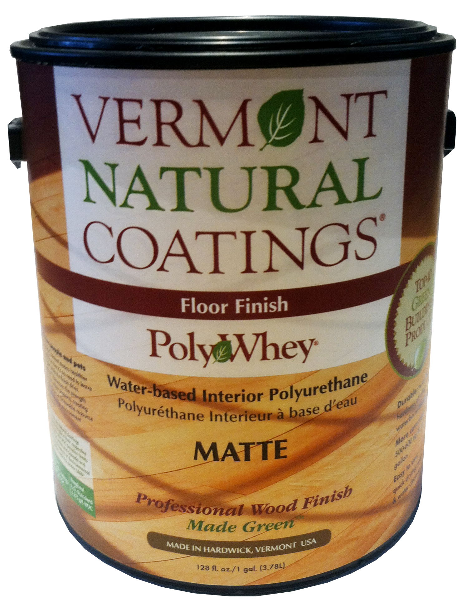 sneakers for cheap 03dd1 7618f Vermont Natural Coatings reg  PolyWhey Floor Finish Matte