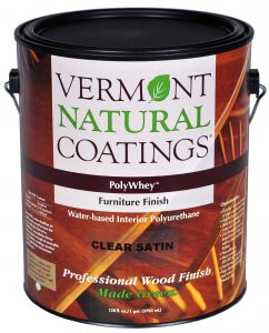 VNC,Vermont-Natural-Coatings,Polywhey,furniture,finish