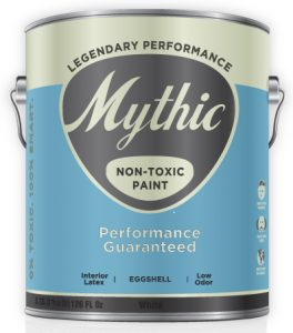Can't find Mythic Non Toxic Zero VOC Paint? Non Toxic Paint Supply is Open!