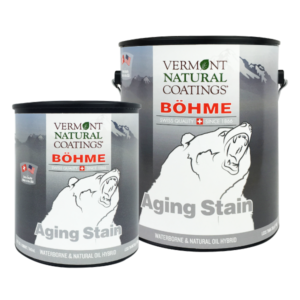 Bohme Low VOC Aging and Wood Weathering Stain - Vermont Natural Coatings - Non Toxic Paint Supply