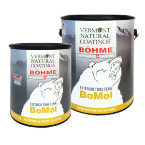 Bohme Low VOC BoMol Exterior Trim Stain - Vermont Natural Coatings - Non Toxic Paint Supply