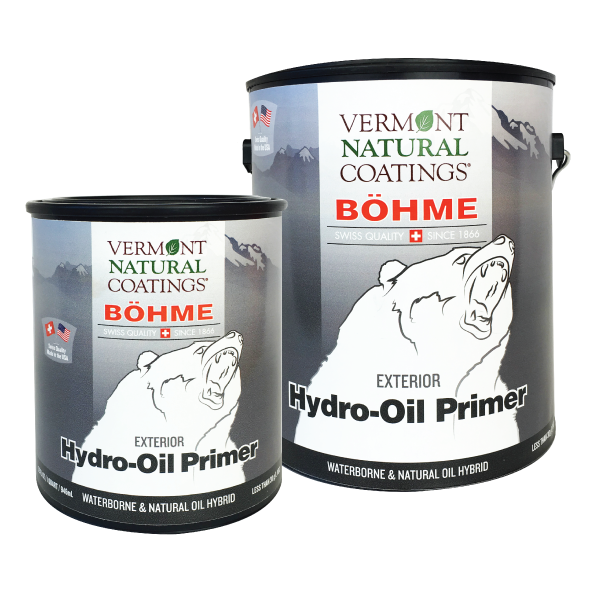 Bohme Low VOC Exterior Hydro Oil Wood Protection Primer - Vermont Natural Coatings - Non Toxic Paint Supply