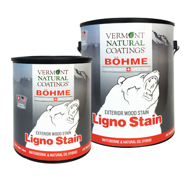 Bohme Low VOC Exterior Ligno Wood and Fence Stain - Vermont Natural Coatings - Non Toxic Paint Supply
