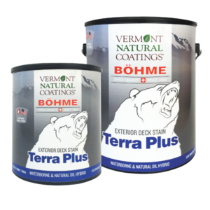 Bohme Low VOC Exterior Terra Plus Oil and Water Hybrid Deck Stain - Vermont Natural Coatings - Non Toxic Paint Supply