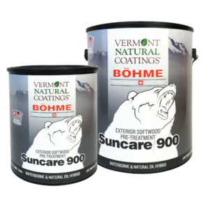 Bohme Low VOC Suncare 900 Exterior Deck and Fence UV Protection Stain - Vermont Natural Coatings - Non Toxic Paint Supply